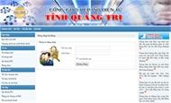 Phần mềm Cổng giao tiếp ISO điện tử tỉnh Quảng Trị