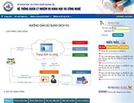 Hệ thống quản lý nhiệm vụ KHCN