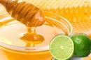 Mật ong chanh thành lọc cơ thể