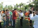 Công đoàn Dầu khí Việt Nam khai mạc Giải bóng đá ngành Dầu khí khu vực miền Trung năm 2013
