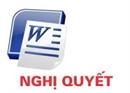Nghị quyết V/v miễn nhiệm chức danh ủy viên HĐQT đối với ông Nguyễn Lâm và bổ sung thành viên HĐQT đối với ông Nguyễn Mạnh Hùng