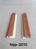 Nẹp kết thúc PVC 3-015 (3 X 1.3 X 0.2)cm