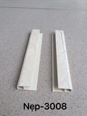 Nẹp kết thúc PVC 3-008 (3 X 1.3 X 0.2)cm
