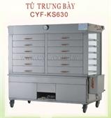 TỦ TRƯNG BÀY BÁNH BAO CYF-KS630