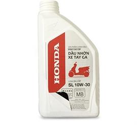 Hướng dẫn nhận biết dầu nhớt chính hiệu Honda