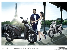 Honda Việt Nam khẳng định đẳng cấp cho dòng xe SH với loạt phiên bản mới