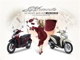 Honda Việt Nam giới thiệu SH Mode 125cc mới với ABS – Lái tự tin, chuẩn phong thái