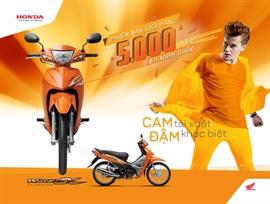 """Honda Việt Nam giới thiệu phiên bản giới hạn Wave Alpha 110cc – """"CAM TÁI XUẤT – ĐẬM KHÁC BIỆT"""""""