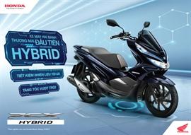 Honda Việt Nam giới thiệu mẫu xe PCX HYBRID hoàn toàn mới – Mẫu xe máy hai bánh thương mại đầu tiên với công nghệ HYBRID