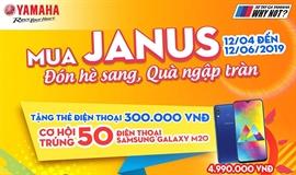 Mua Janus đón hè sang, quà ngập tràn