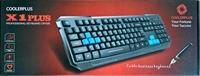 Keyboard CoolerPlus X1 - USB