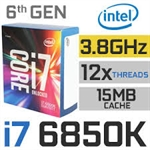 CPU INTEL CORE i7 6850K 3.6Ghz 15MB