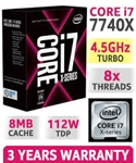 CPU INTEL CORE i7 7740X 4.3Ghz 8MB