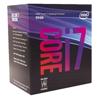 CPU Core I7-8700 (3.2GHz) Coffee Lake
