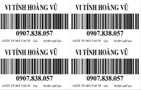 Giấy in Barcode nhiệt k80