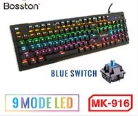 Bàn Phím Cơ Bosston MK916 Full Led