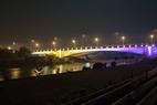 Chiếu sáng mỹ thuật lộng lẫy cầu Bắc Hưng Hải - Chiếu sáng con đường đến Khu đô thị Ecopark