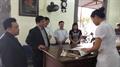 Cục trưởng cục quản lý KCB Bộ y tế Lương Ngọc Khuê về thăm Dược Khải Hà