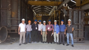 Chuyến thăm COMA2 của đoàn chuyên gia đánh giá từ Điện lực Malaysia và ABB Việt Nam