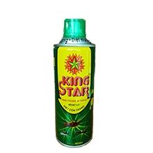 Bình xịt diệt côn trùng Kingstar 360ml xanh (hương chanh)