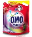 NƯỚC GIẶT OMO MATIC ĐỎ 2.7kG