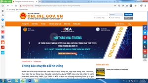 Thay đổi hệ thống Đăng ký thông báo website thương mại điện tử bán hàng? Bạn cần làm gi