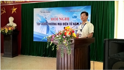 Triển khai tập huấn thương mại điện tử tại Thanh Hóa, Hà Tĩnh, Quảng Bình và Quảng Trị