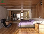 Mẫu vật liệu ốp tường phòng ngủ, phòng khách và phòng ăn mới nhất
