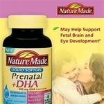 Prenatal Multi + DHA Liquid Softgel Thuốc bổ sung DHA dành cho bà bầu của Nature Made- Hàng xách tay từ Mỹ