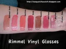 Son bóng Vinyl gloss Rimmel London - Hàng xách tay từ UK