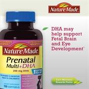 Thuốc bổ dành cho bà bầu Nature Made® Prenatal Multi + DHA, 150 Softgels - Bổ sung DHA