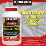 Kirkland Signature™ Glucosamine/Chondroitin Sulfate, 220 Tablets