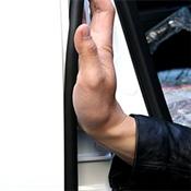 Dây cao su cách âm mép cánh cửa ( được cấp bằng sản phẩm sáng tạo)