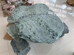 Bàn ghế đá tự nhiên 1m17x1m3