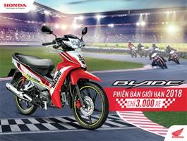 Honda Việt Nam chính thức giới thiệu Honda Blade 110 phiên bản giới hạn – Nâng tầm phong cách!