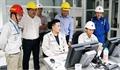 Lãnh đạo Tập đoàn Dầu khí Việt Nam kiểm tra công tác vận hành Nhà máy Nhiên liệu sinh học Dung Quất