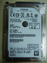 Hitachi 500GB SATA 2 Notebook