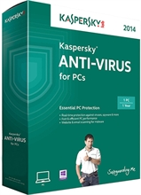 Kaspersky Anti-Virus 2015 for PC (1 PC)