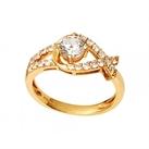 Nhẫn nữ mặt đá