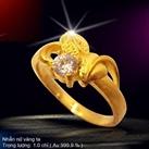 Nhẫn hoa nữ 1.0 Chỉ