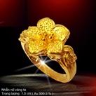 Nhẫn hoa nữ 1.5 Chỉ