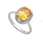 Nhẫn bạc nữ gắn đá