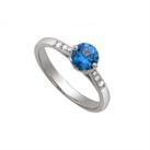 Nhẫn nữ đá xanh