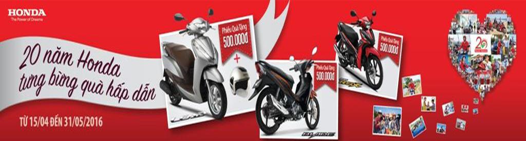 Kỷ niệm 20 năm Honda Việt Nam