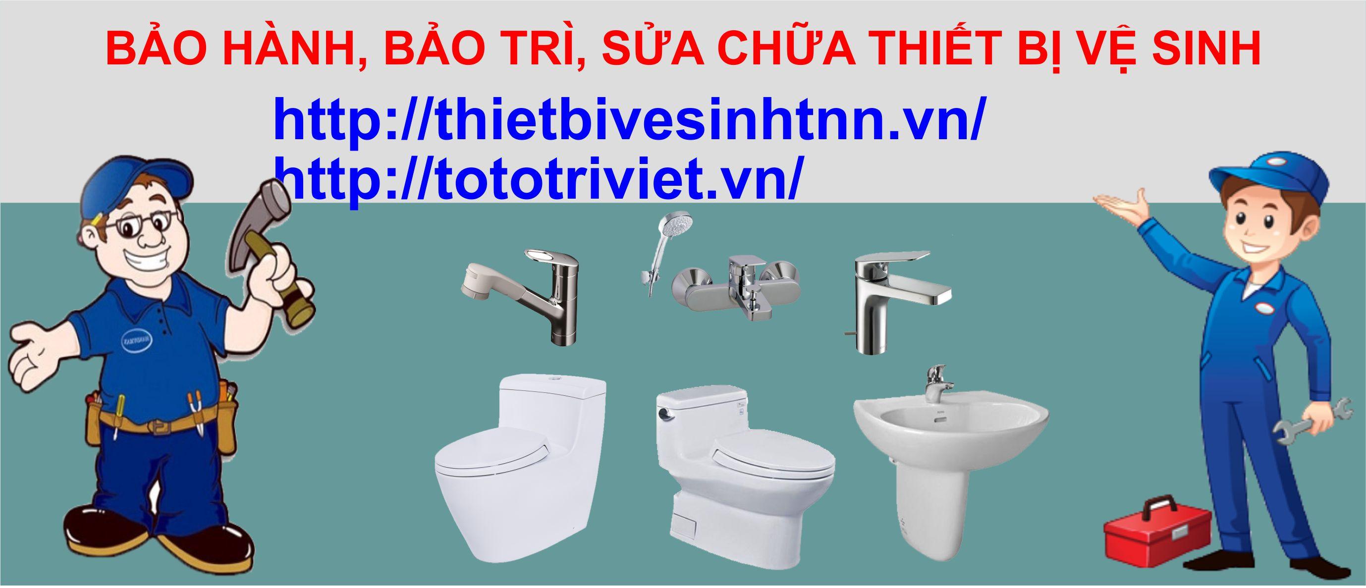 bảo hành, bảo trì thiết bị vệ sinh