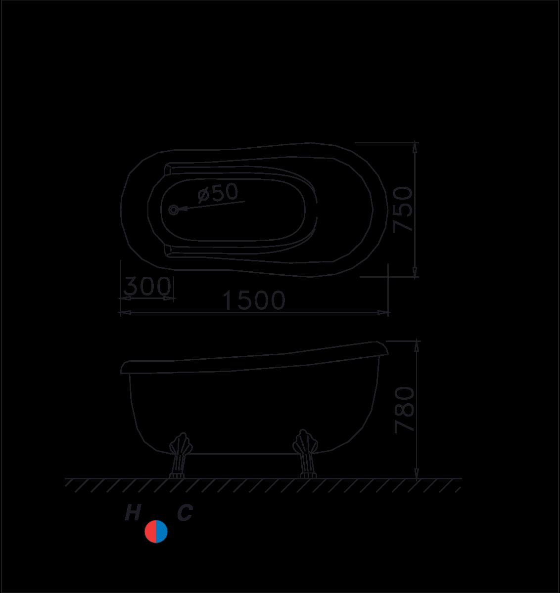 bản vẽ caesar KT1150