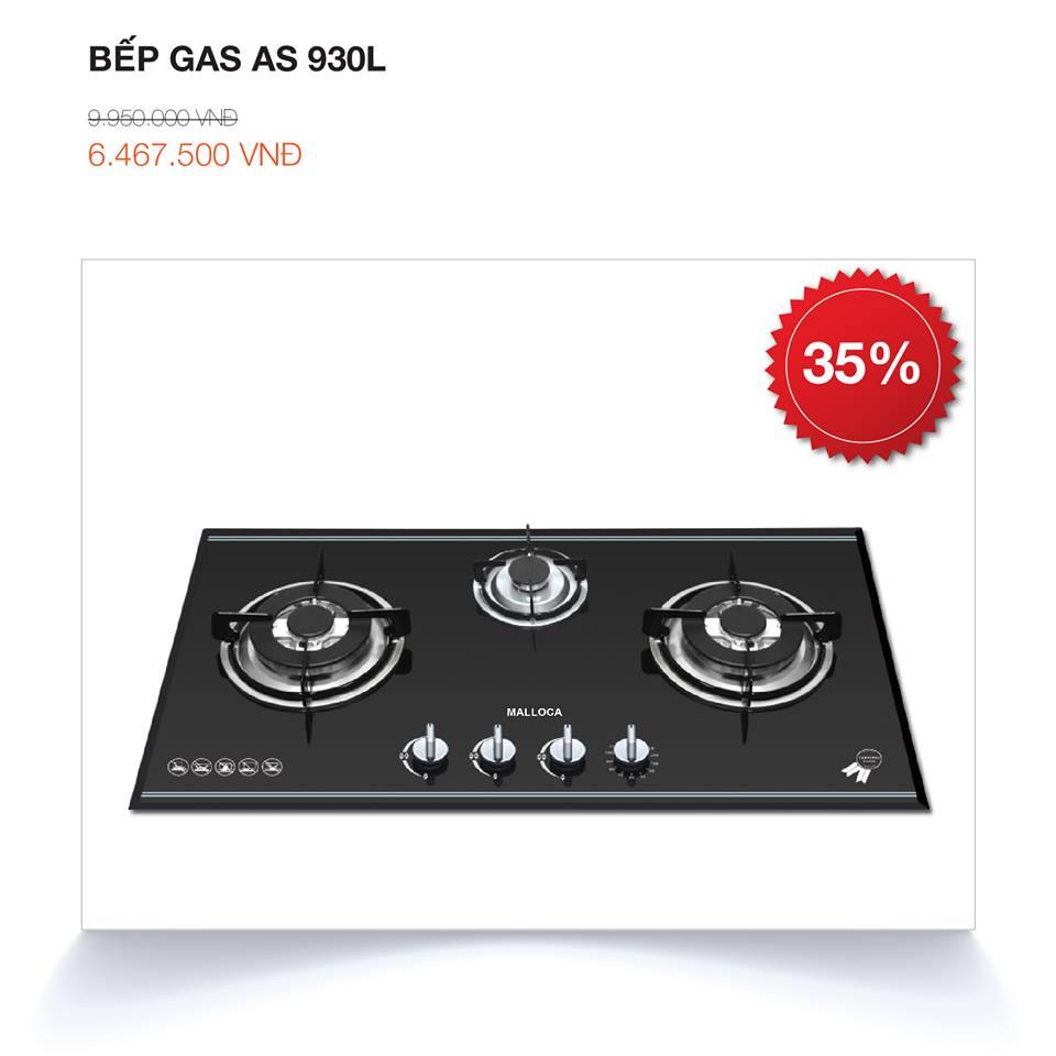 Bếp ga 3 bếp AS 930L