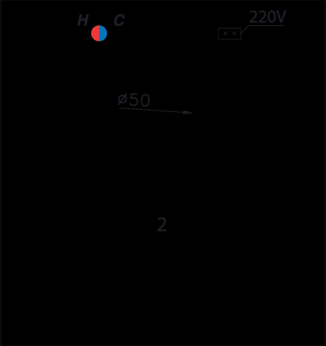 bản vẽ bồn tắm caesar MT211SL(R)