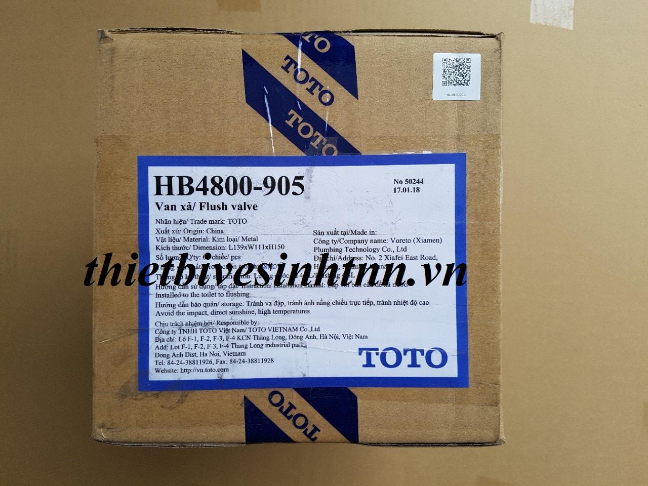van-xả-bàn-cầu-toto-c905