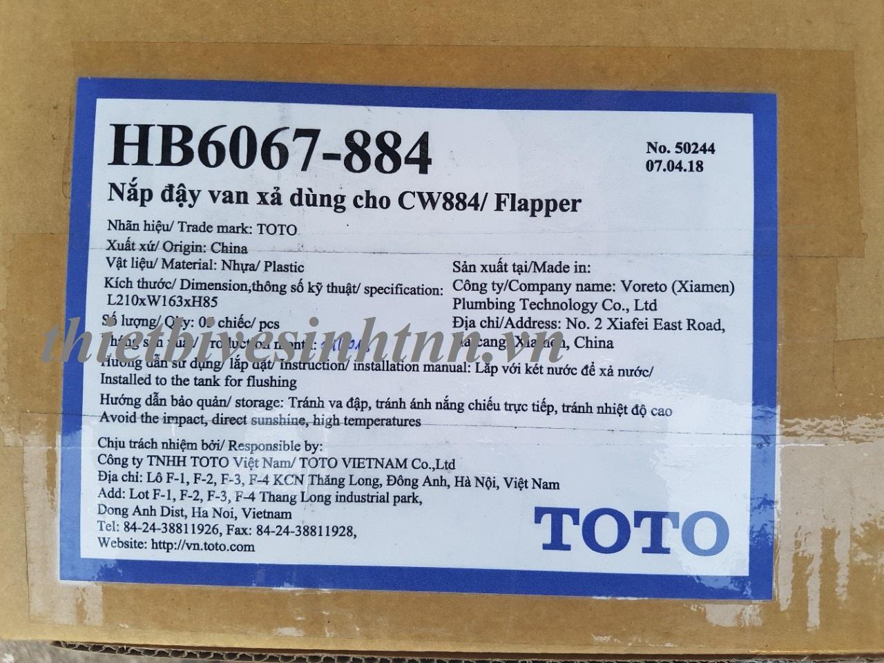 nap-day-van-xa-toto-HB6067-884